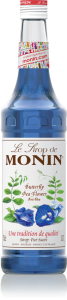 MONIN Butterfly Pea syrup 70cl