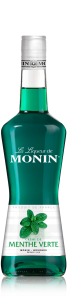 MONIN Green Mint liqueur