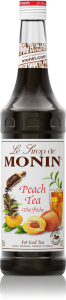 MONIN Peach Tea syrup 1L