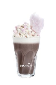 Cotton Candy Hot Chocolate