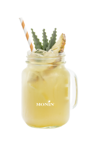 pineapple ginger sparkling cloudy lemonade