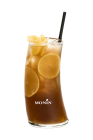 yuzu peach iced tea