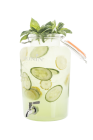 Flavoured Water Cucumber Basil Dispenser