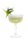 Tarragon Granny Smith Aquavit Sour