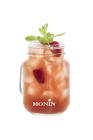 Spiked Raspberry Ginger Iced Tea