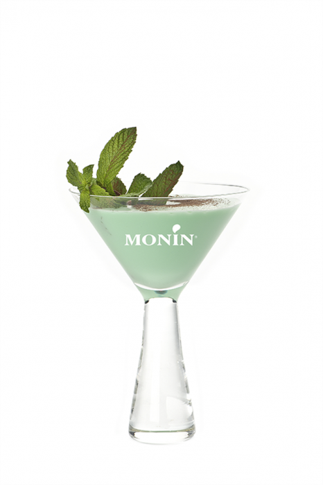 green mint white chocolate dessert drink