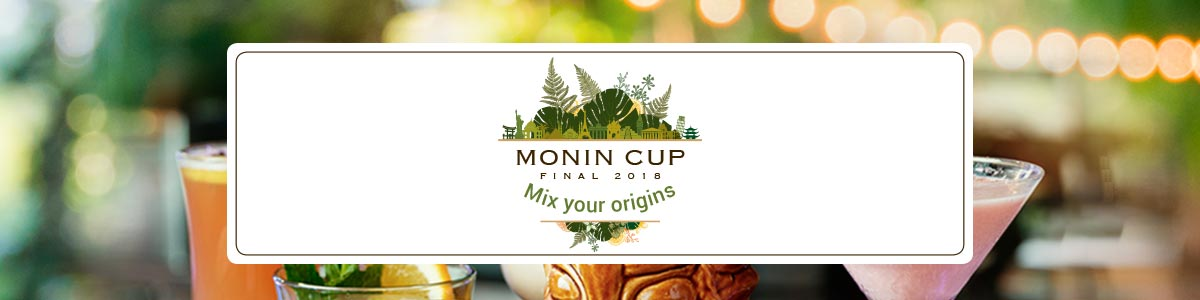 Bartender competition MONIN Cup 2018