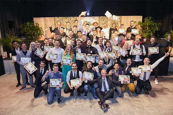 46 candidates at the MONIN Cup 2018