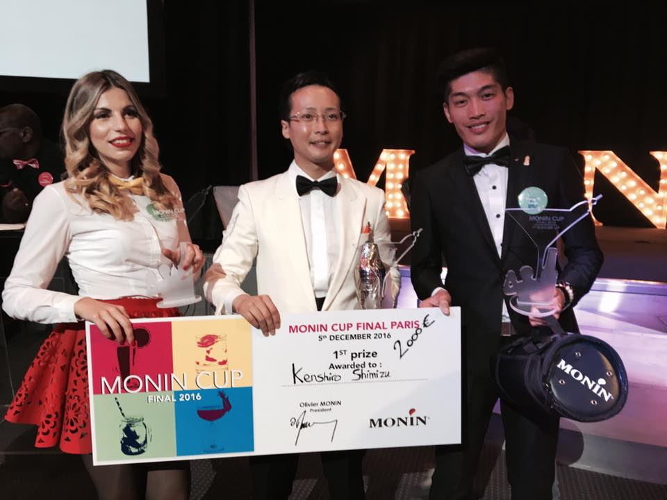 monin cup 2016 competition bartenders