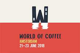 2018 - WORLD OF COFFEE - AMSTERDAM