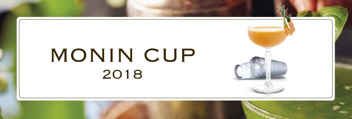 monin cup 2018 competition bartender france