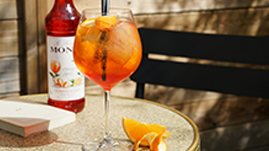 Spritz sirop cocktails monin