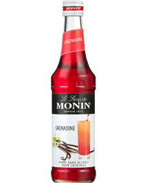 Sirop grenadine grande distribution