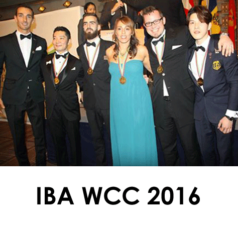 IBA 2016 bartender competition