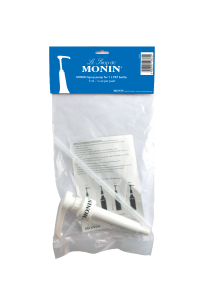 MONIN 5ml pump for 1L PET and 25cl syrup bottles