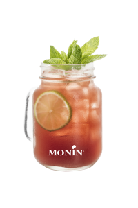 Rhubarb Jam Jar Mocktail