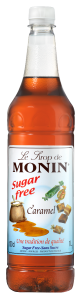 MONIN Caramel Sugar Free syrup 1L PET
