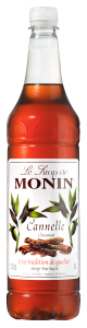 MONIN Cinnamon syrup 1L PET