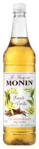 MONIN French Vanilla syrup 1L PET