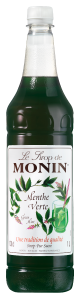MONIN Green Mint syrup 1L PET