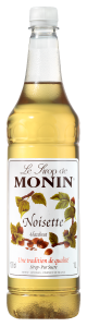 MONIN Hazelnut syrup 1L PET