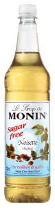 MONIN Hazelnut Sugar Free syrup 1L PET