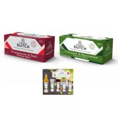 Double Dutch premium mixers and MONIN Cocktail syrups
