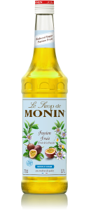 MONIN Passion Fruit Reduced Sugar syrup 70cl