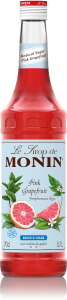 MONIN Pink Grapefruit Reduced Sugar syrup