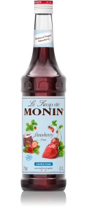 MONIN Strawberry Reduced Sugar syrup