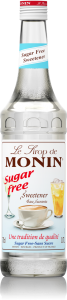 MONIN Sweetener Sugar Free syrup