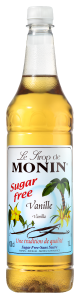 MONIN Vanilla Sugar Free syrup 1L PET