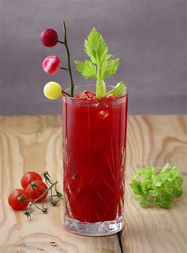 Bloody Mary betterave recette