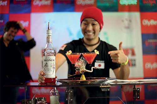 Bartending competition