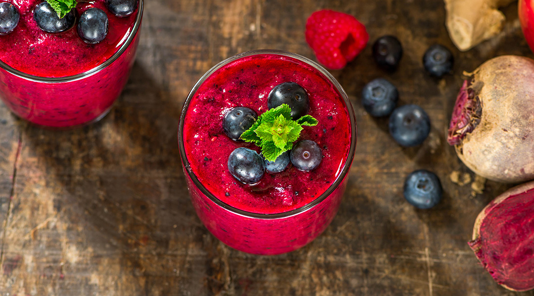 RASPBERRY BEETROOT SMOOTHIE