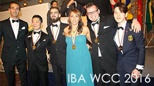 IBA bartender competition