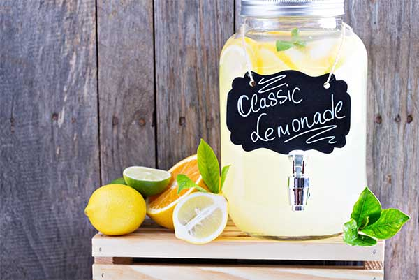 limonade jarre dispenser monin